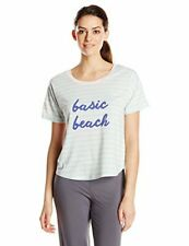 Honeydew Intimates Women's up All Night Graphic Tee, As Beach, Large