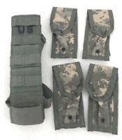 Army Surplus US Military 9MM Pistolman Set Leg Extender with Pouches ACU NEW