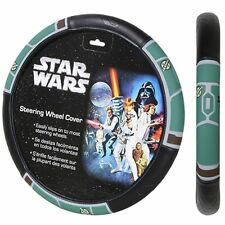New Star Wars Boba Fett Synthetic Leather Car Truck Suv Steering Wheel Cover