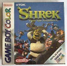 Game Boy Color GBC Shrek: Fairy Tale Freakdown (2001), New & Factory Sealed