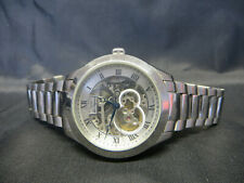 Mens Rotary Les Originales Swiss 'Jura' Automatic Skeleton Watch