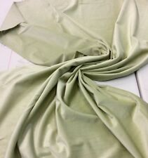 :1 METRE(100 X 120 cms): MINT GREEN Cotton Furnishing velvet 380 gsm,