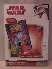 Star Wars  Easter Egg Decorating Kit w/ Glow in Dark Poster NIB (316DJ18 ) 00968