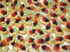 50 Dollhouse Miniature Pancakes with Fruit * Doll Mini Food Breakfast