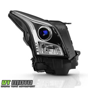 2013-2018 Cadillac ATS Halogen Projector Headlight Headlamp Right Passenger Side