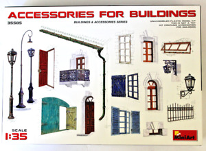 MiniArt Accessories for Buildings, Dioramas  in 1/35 585 ST