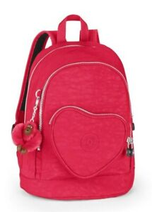 Kipling HEART BACKPACK Kids Backpack - Strawberry Ice
