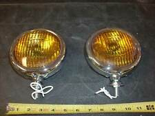"VINTAGE FOG LIGHTS 5"" CHEVY BOMBS, FLEETMASTER,STYLINE, TRUCKS 41 47 48 49 50 51"