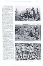 1896 champ de tir 6th Birmanie Bataillon Sergent Mess 1st Battalion Grenadier Gu