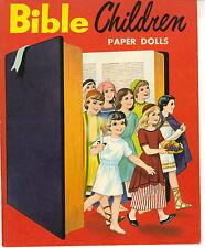 VINTAGE UNCUT BIBLE CHILDREN PAPER DOLLS HD~LASER REPRODUCTION~LO PR~Hi QUAL NO1