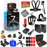 GoPro HERO7 HERO 7 Action Camera (Black) Pro Accessory Kit W/ Extra Batteries
