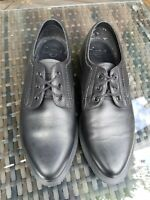 Dr Martens Trulia Pointed toe Black lace up Derby Shoe UK 6 ref16P3 flat leather