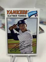 Gleyber Torres 2018 Topps Archives Rookie card #164! New York Yankees!
