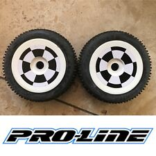 PRO-LINE Mounted Crime Fighter Tires XTR 9014-10 1:8 Off Road RC Buggy Pre Glued