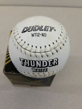 DUDLEY WT12-ND THUNDER WHITE Official Canadian Softball NEW