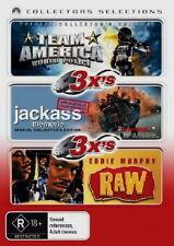 Team America - World Police - Jackass The Movie - Raw - 3 NEW DVD