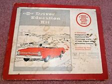 Rare Vintage 1960s Chevrolet Car Driver Education Kit w Record and Film Strips