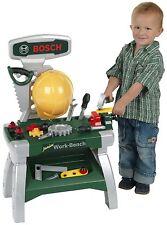 Kinder Theo Klein Bosch Werkbank Junior mit Helm und Werkzeug Spielzeug NEU