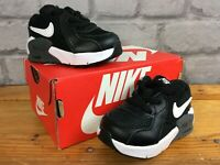 NIKE AIR MAX EXCEE BLACK WHITE BOYS TODDLER UK 2.5 EU 18.5 TRAINERS RRP £45 K