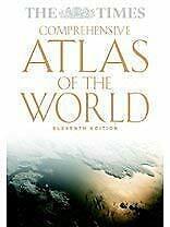 Times Comprehensive Atlas of the World Hardcover Collins Bartholomew