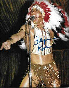 FELIPE ROSE THE VILLAGE PEOPLE INDIAN SIGNED AUTOGRAPH 8X10 PHOTO W/ PROOF