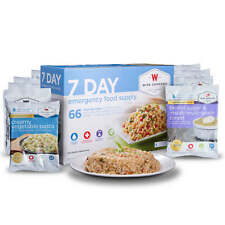7 Day Emergency Food and Drink Supply