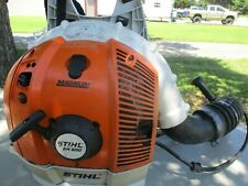 STIHL MAGNUM BR600 COMMERCIAL GAS BACKPACK LEAF BLOWER,GUARANTEED TO RUN