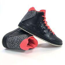 Nike Jordan Illusion Mid Basketball Shoe Mens Size 9.5 Black Infrared 705141-008