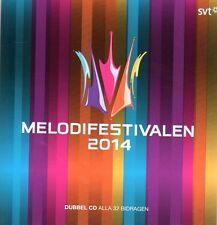 2 CD Melodifestivalen 2014,Eurovision Song Contest Schweden Sweden pre-selection
