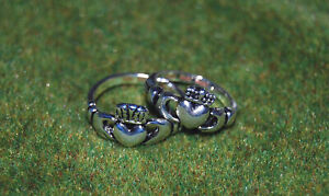 Buffy Vampire Slayer & Angel Claddagh Ring Prop Replica Set! FACTORY X Leftover