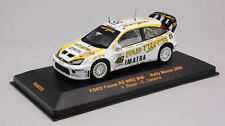 Ford RS WRC #46 Focus Valentino Rossi Monza Rally 2006 1:43 Model IXO MODEL