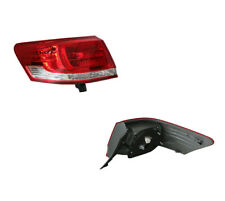 Toyota Aurion GSV40 2010-ON Tail Light OUTER RED/CLEAR/RED Left