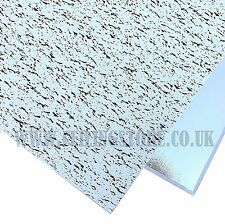 Fissured Vinyl Suspended Ceiling Tiles 595 x 595 Easy Clean Wipeable Laminated
