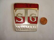 Plakette Turn Sport Gemeinschaft  TSG  WISMAR