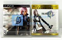 Final Fantasy XIII Favoritos + Lightning Returns - PS3 - New