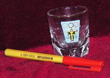 1972 MUNICH OLYMPIC GAMES Small 'shot' GLASS {West Germany) EC