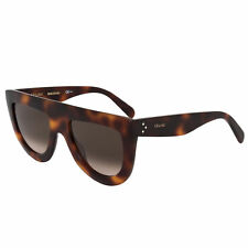 b98752085089 Plastic Frame Sunglasses CÉLINE Brown for Women