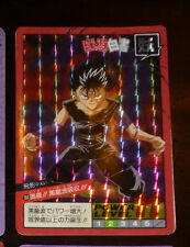 YUYU HAKUSHO SUPER BATTLE PART CARD PRISM CARTE 188 BANDAI JAPAN 1994 **