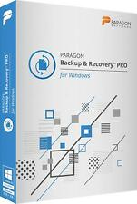 Paragon Backup & Recovery PRO DVD für WIN Version deutsch EAN 4023126120373