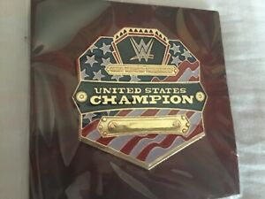 WWE United States Championship pin badge Loot Crate slam crate exclusive New