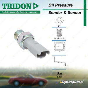 Tridon Oil Pressure Switch for Peugeot 206 207 207CC 306 307 308 406 407 508 607