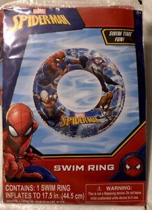 "Spider-man Swim Ring, 17.5"" Diameter, Age 3+ NEW"