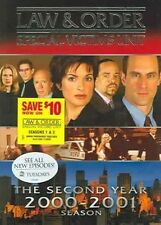 Law Order Special Victims Unit - Second Year DVD 1999 Region 1 US Impo