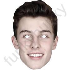 Shawn Mendes Celebrity CANTANTE CARD Face Mask-tutte le nostre maschere sono pre-tagliati!