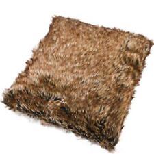 Cojines decorativos de color principal marrón de piel para el hogar