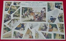 1922 CONCOURS CASSE-TÊTE NESTLE CONTES N°35 3e SERIE BOB BIJOU ANE M. TOUSSAINT