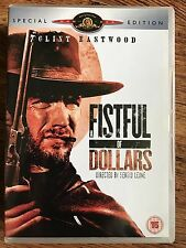 Clint Eastwood A FISTFUL OF DOLLARS | Sergio Leone Spaghetti Western 2 Disc DVD