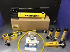 Enerpac Hydraulic Cylinder Set P392 Pump Rcs101 Rc102 Wr5 Rc104 Rc55 Rsm100