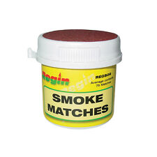 REGIN REGS06 SMOKE MATCHES TUB OF x75 (APPROX) *NEW SEALED CONTAINER* *FREE P&P*