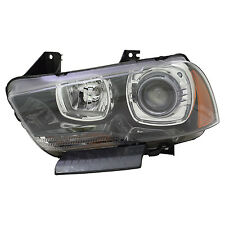 TYC NSF Left Side HID Headlight For Dodge Charger 2011-2014 Models